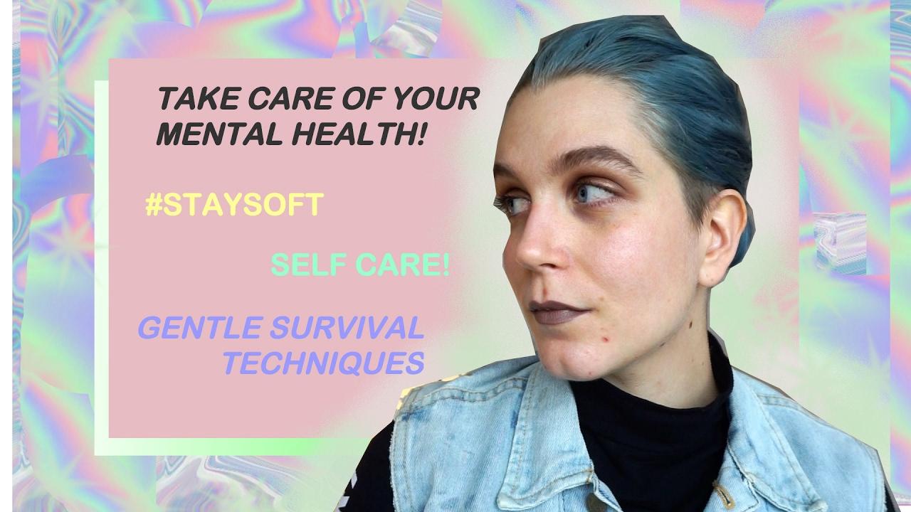 HOW I TAKE CARE OF MY MENTAL HEALTH | tips n tricks ...