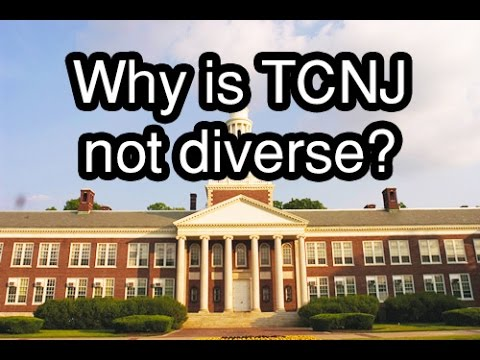 Why is TCNJ not diverse? (Visual Thinking Final)