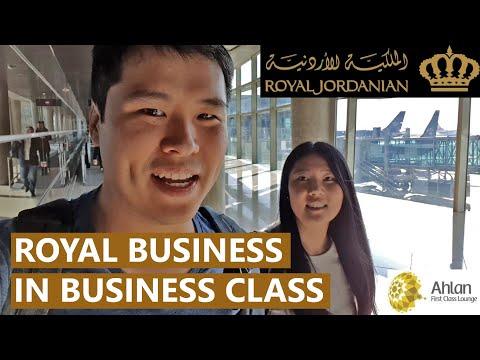 Royal Jordanian Business Class: The Royal Treatment from Dubai to Istanbul via Amman