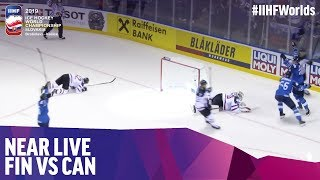Kaapo Kakko puts Finland on the board | Near Live | 2019 IIHF Ice Hockey World Championship