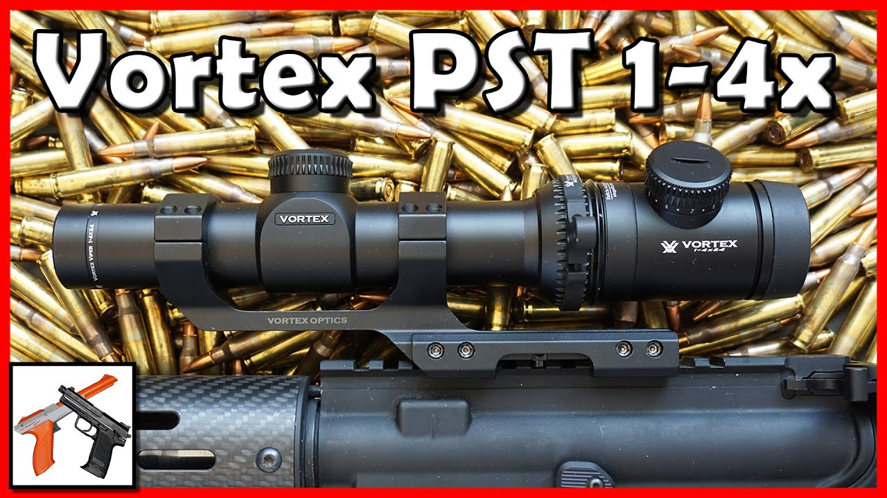 Download Vortex Viper PST 1-4x24 Scope Review: Better than Burris MTAC?  AR 15 Rifle Scope / Optic