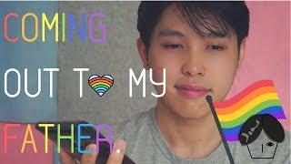 MALAYSIA GUY COMING OUT TO FATHER | JIN KA