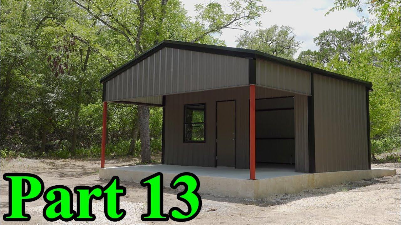 Metal Building Complete | Demolition Ranch HQ Build Part 13