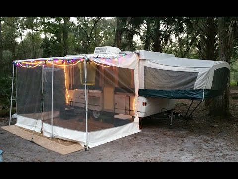 Closing our 2001 coleman timberlake pop up camper youtube for Popup house youtube