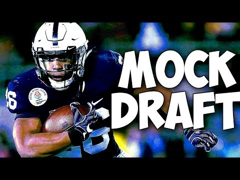 2018 NFL Mock Draft 1/22/18 - Post AFC-NFC Championship Games Mock Draft