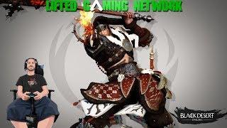Black Desert Online PS4 PRO Grinding for when Ninja Drops