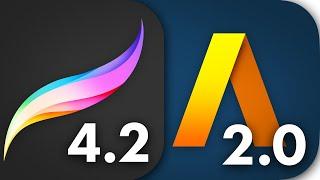 Procreate 4.2 & Artstudio Pro 2.0