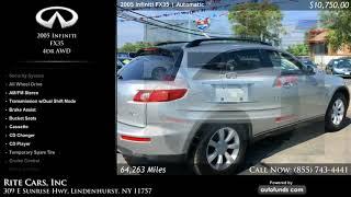 Used 2005 Infiniti FX35 | Rite Cars, Inc, Lindenhurst, NY