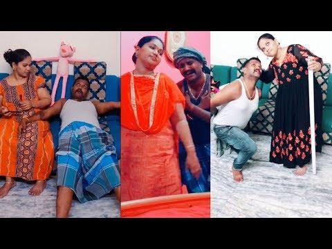 குறும்புக்கார கணவன் மனைவி Tamil Dubsmash அட்டுழியங்கள் Husband & Wife Dubsmash Videos 2019 Tamil