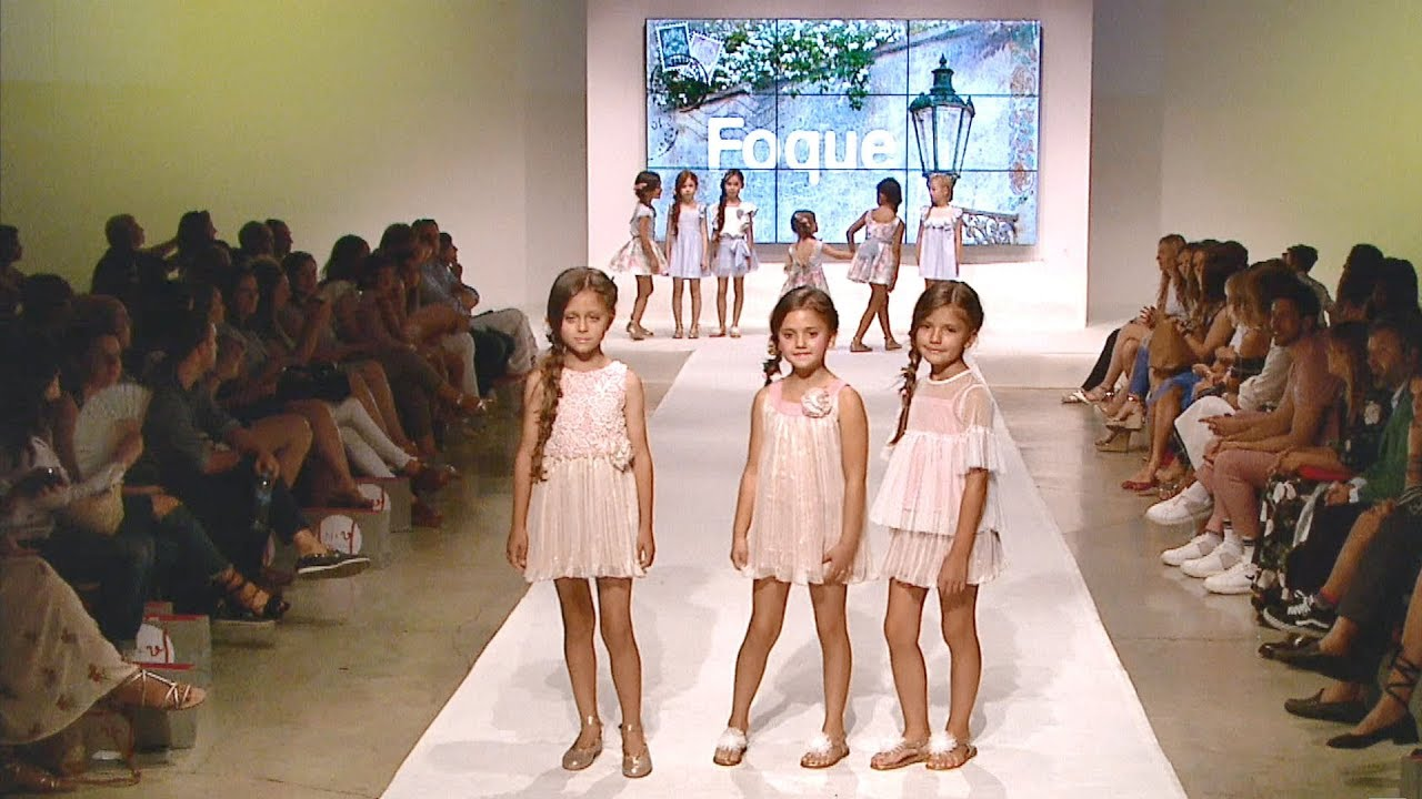 DESFILE INFANTIL FOQUE VERANO18 KIDS FASHION SHOW