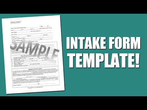 Best Intake Form Template For Mental Health Assessment