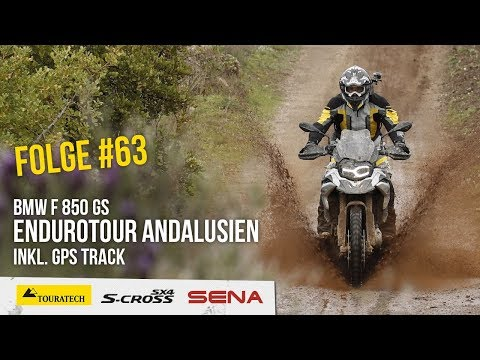 Motorradreise.TV Folge #63 – Endurotour Andalusien auf der BMW F 850 GS inkl. GPS Track