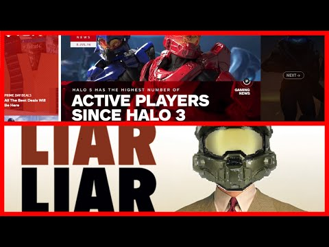 The Truth About Halo 5's Population   343 are Trying to Deceive You