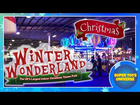 Visiting Winter Wonderland The UK's Largest Indoor Christmas Theme Park, Manchester, Christmas 2017