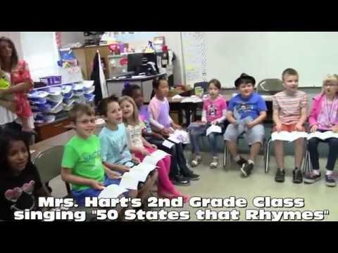 Mrs. Hart's 2nd Grade Class singing