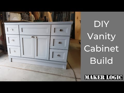DIY Traditional Vanity Cabinet Build