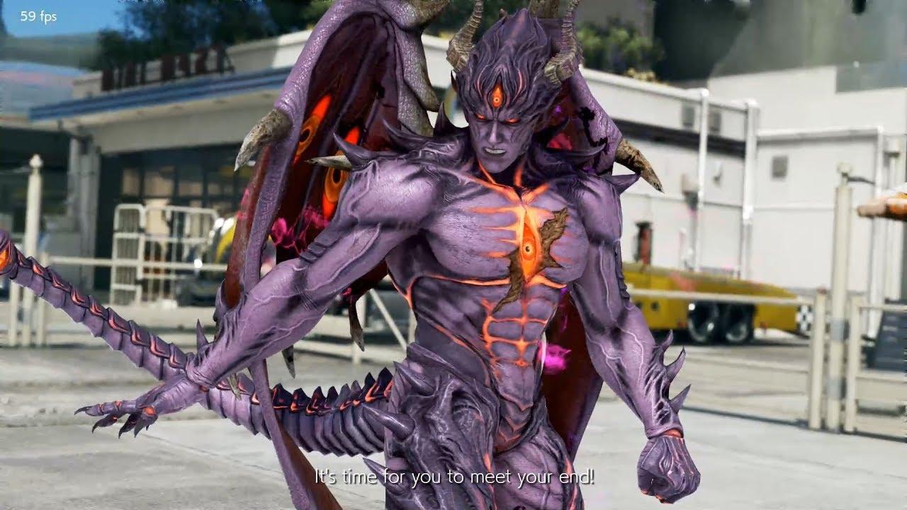 Tekken 7 Devil Kazuya Dual Move List Fully Playable Offline Online Youtube