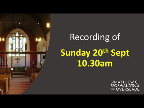 Live Recording 10.30 20th Sept