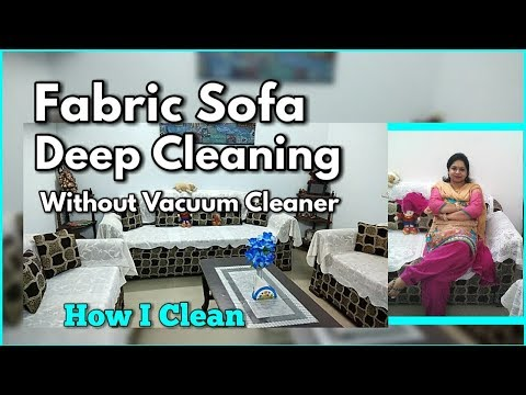 How To Clean Sofa at Home / Sofa Deep Cleaning Routine / Fabric Sofa Cleaning -monikazz kitchen