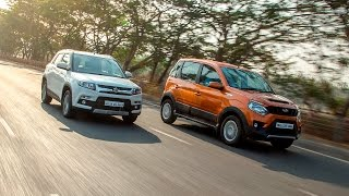 Maruti Suzuki Vitara Brezza vs Mahindra Nuvosport :: Comparison Review :: ZigWheels India