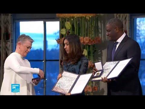 العراقية ناديا مراد والكونغولي دينيس موكويغي يتسلمان جائزة نوبل للسلام  - نشر قبل 22 دقيقة