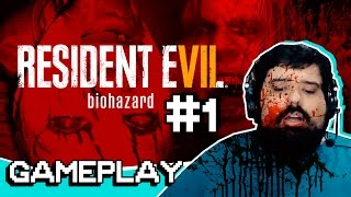 Vídeo - RESIDENT EVIL 7 PT.1 | GAMEPLAY