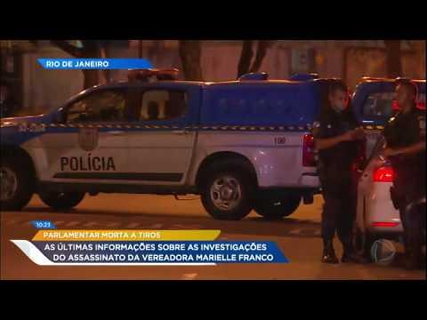 Novas informações sobre caso da vereadora assassinada no Rio de Janeiro