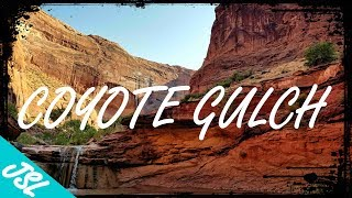 Southern Utah Adventure - Exploring Coyote Gulch - Glen Canyon, Utah - What the heck is a GULCH?