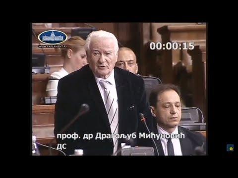 Prof. dr Dragoljub Mićunović o Zakonu o obrazovanju i vaspitanju, 20.09.2017.