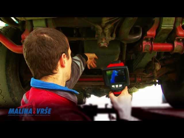 Servis a opravy nákladních aut Malina Vrše - dlouhá verze
