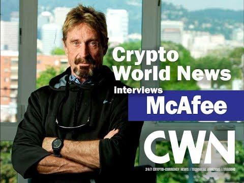 Crypto World News interviews John McAfee [2018] (OvenizedOscillator & Singleplayer)