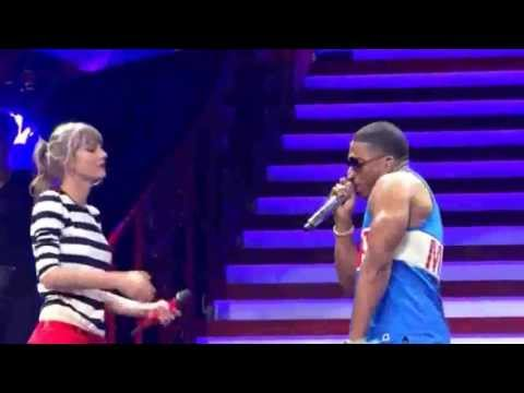 Taylor Swift - Nelly - RED Tour - ST Louis 2013