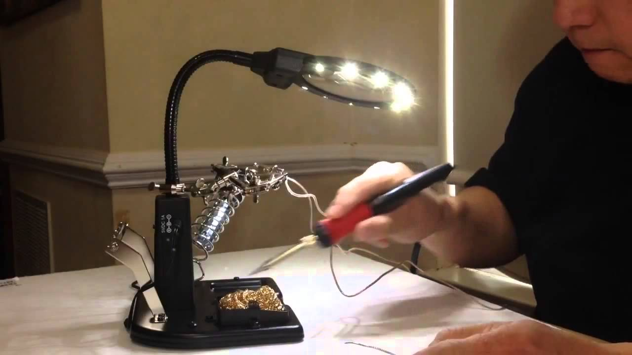 Soldering station with own hands