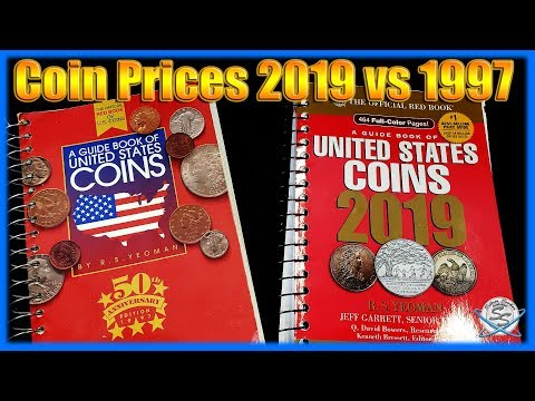 Red Book Coin Prices: 2019 Vs 1997!  HUGE Change!