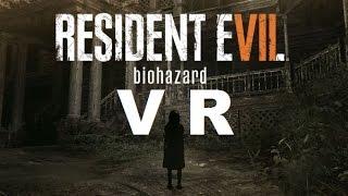 Menu Principal VR RESIDENT EVIL 7 biohazard VR