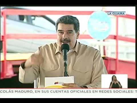 Maduro responde a amenazas de Trump de bloqueo naval o cuarentena contra Venezuela