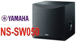 Yamaha NS-SW050 Subwoofer Unboxing + Setup + Test + Return