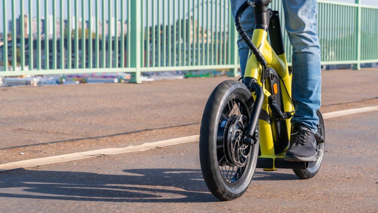 STEEREON - Der erste E-Scooter mit Allradlenkung!