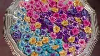 Creating Simple Polymer Clay Flower Beads, beginner tutorial