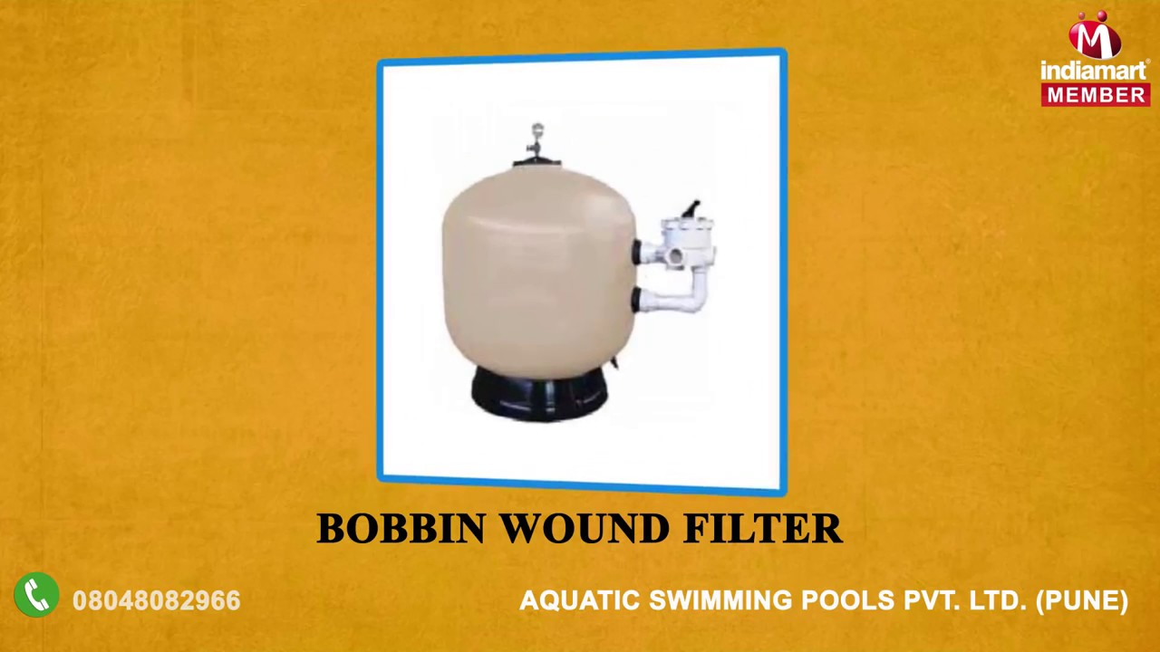 Bobbin Wound Commercial Sand Filter - Aquatic Swimming Pools