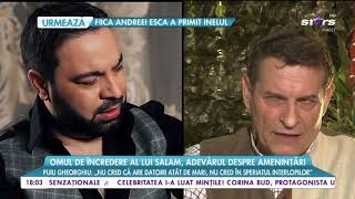 Florin Salam a infuriat la culme o familie de interlopi