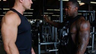 Тренировка с Mike Rashid #1. (Упражнения для спины)