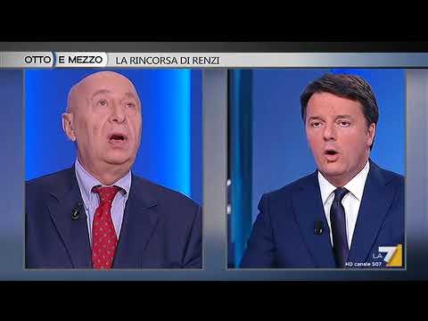 Otto e mezzo - La rincorsa di Renzi (Puntata 08/01/2018)