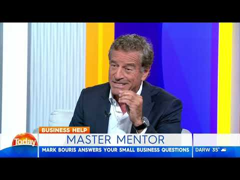 Today Show | Mark Bouris will answer your small business questions at Mentor Masterclass