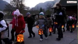 Martinsfeier mit Laternenumzug in Mariazell