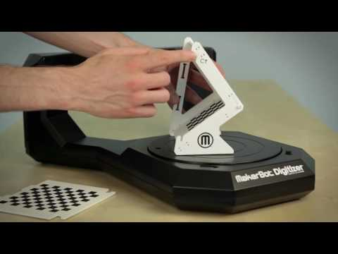 Manufacturer Video of the Getting Started with the MakerBot® Digitizer™ Desktop 3D Scanner