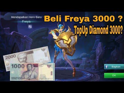 Cara Beli Diamond 3000 Rupiah Lewat Pulsa Untuk Mendapatkan Freya