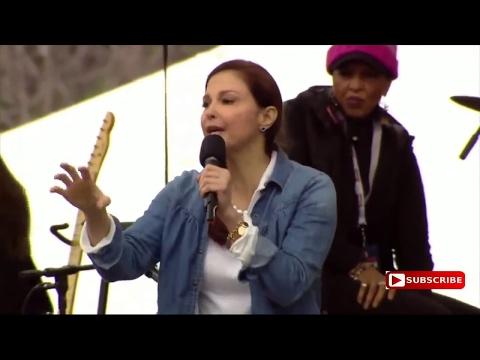 Ashley Judd  'I am a nasty woman' Speech video at Women's March In Washington DC
