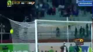 Les buts du match  Algérie 3 Malawi  0 a BLIDA