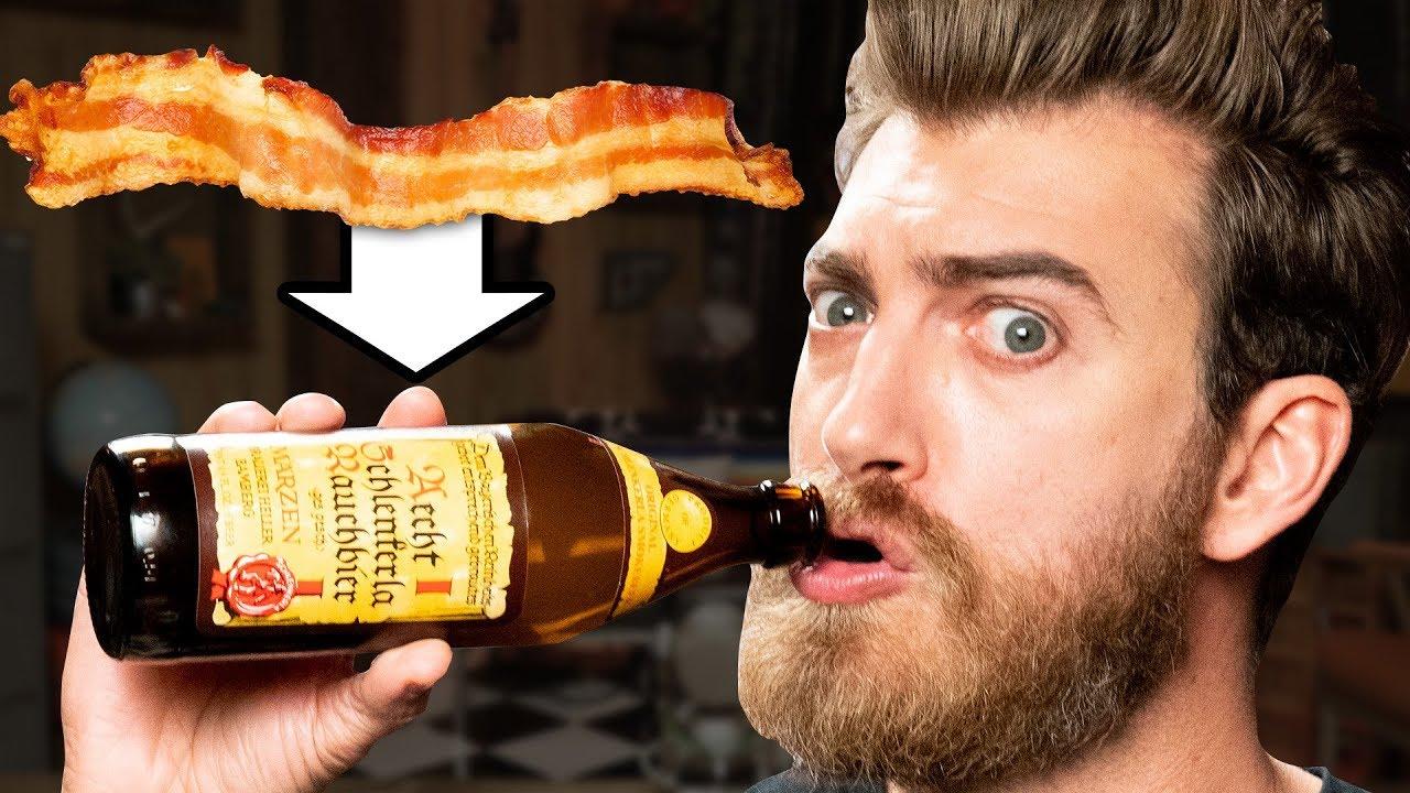 Bacon Beer & Vodka Taste Test